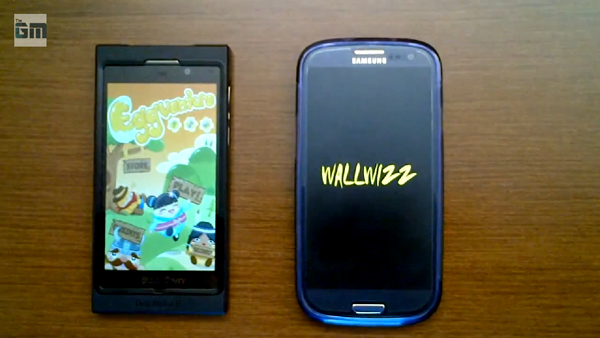 BB 10 Beats Galaxy S3 By 3 Sec