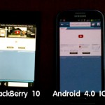 BlackBerry 10 ปะทะ Android 4.0 ICS – Browser Battle