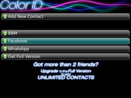 Color ID FREE for BlackBerry BBM