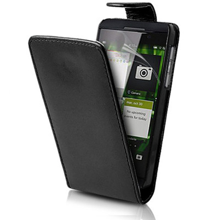 Flip-Leather-Case-Cover-For-BlackBerry-Z10-BB-10-+-Screen-Protector