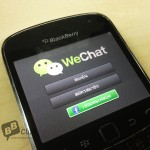 มาแล้ว WeChat for BlackBerry ใน App World
