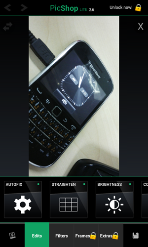 PicShop Lite for BlackBerry 10