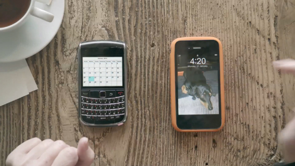 Samsung's Latest TV Ad Goes After BlackBerry 01