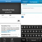 ภาพใหม่ Twitter for BLACKBERRY 10