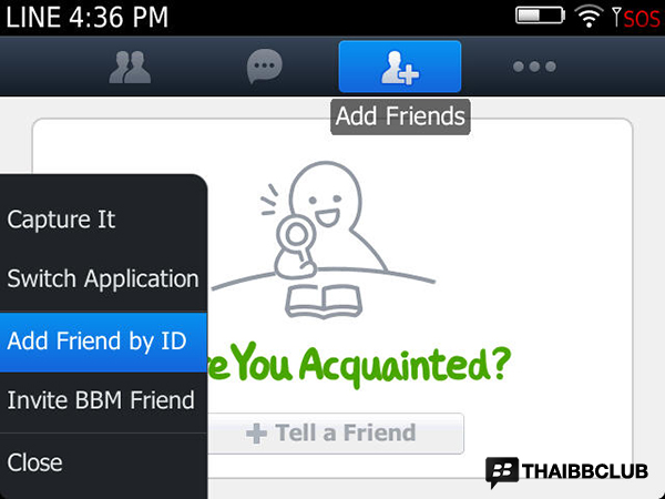 LINE Add Friend by ID