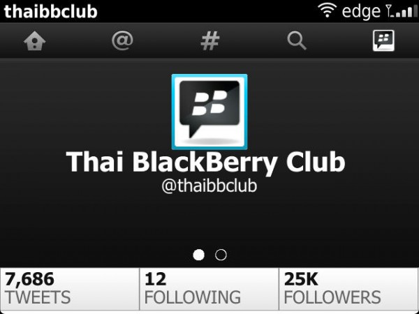 Twitter for BlackBerry Beta Zone