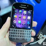 Hands on BlackBerry Q10 ในงาน Mobile Expo 2013