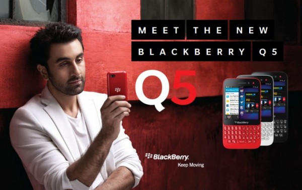 blackberry q5 india