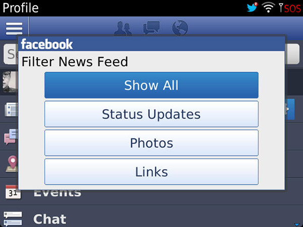 facebook beta zone news feed