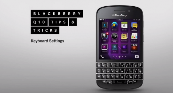 BlackBerry Q10 Tips & Tricks