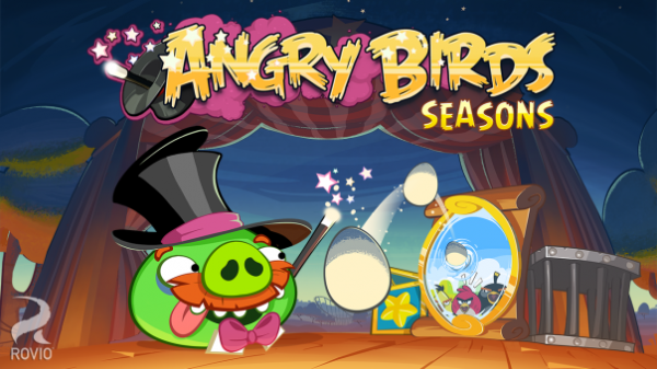 Angry Birds Seasons blackberry 10